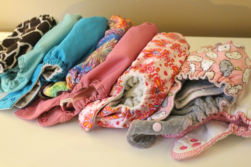 Some of my favorite all-in-one cloth diapers