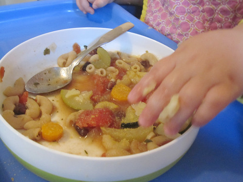 Vegan baby led weaning for babies who eat everything baby led weaning soup forumfinder Image collections