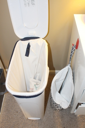 Cloth Diapering Dry Pail System