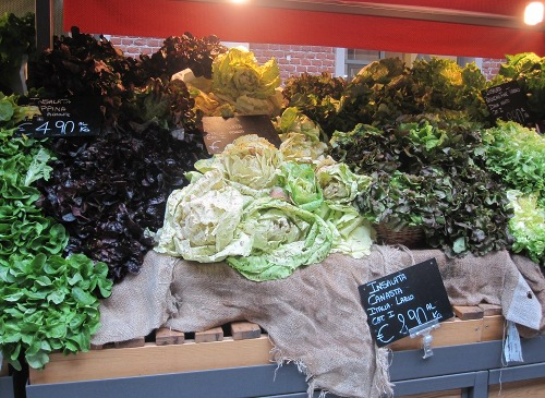 Leafy greens are an excellent source of calcium during pregnancy.