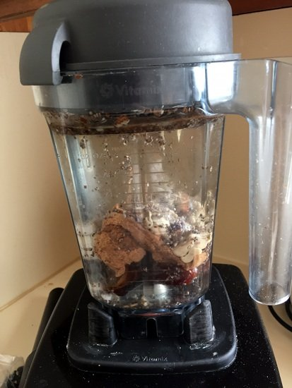 how to make homemade almond butter in vitamix