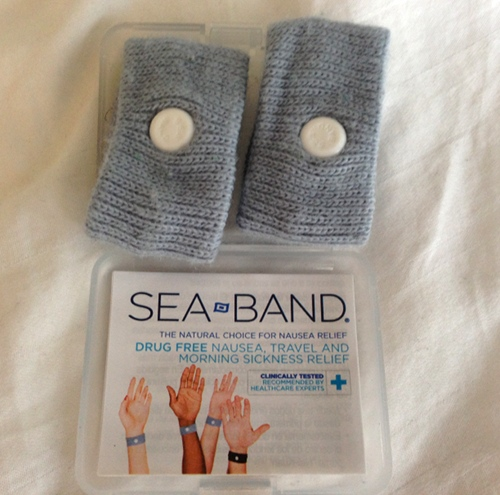 Sea Bands are great morning sickness remedies.